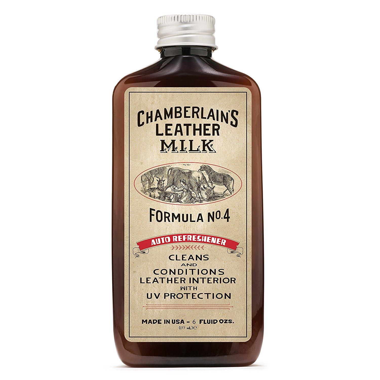 Chamberlains Leather Milk - Auto Refreshener No. 4 - Acondicionador y Limpiador Natural - para el Cuero del Coche - Protege contra los Rayos UV - con ...