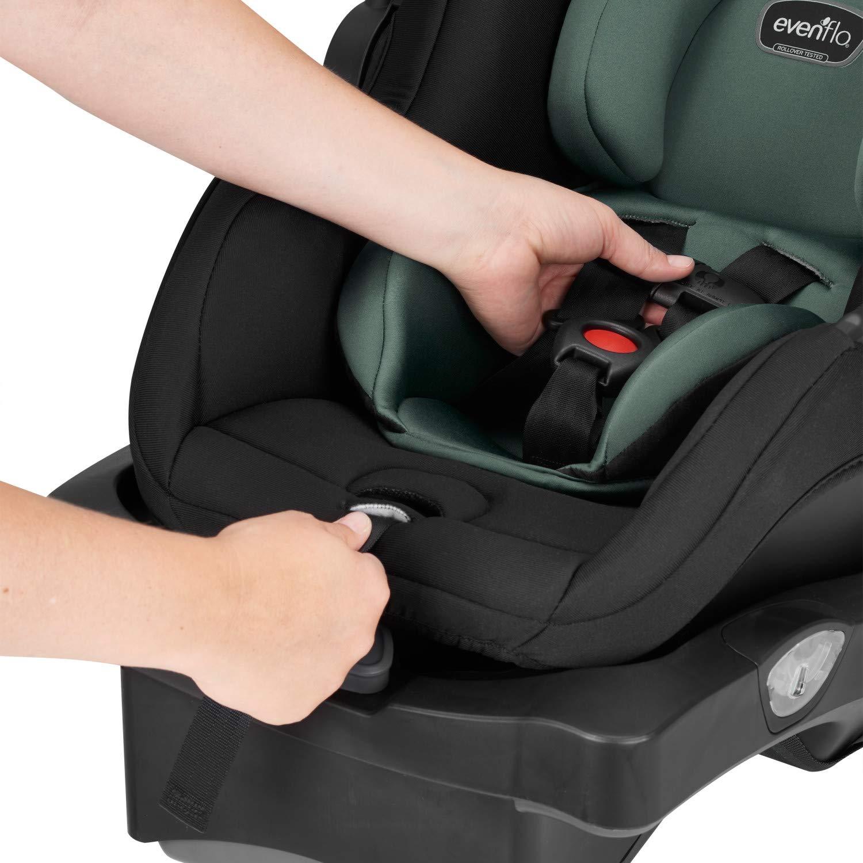 Car Seats Infant Evenflo LiteMax DLX Infant Car Seat Meteorite ...