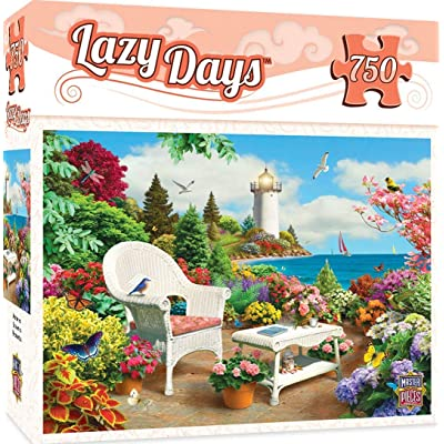 MasterPieces Lazy Days Jigsaw Puzzle, Memories, Featuring Art by Alan Giana, 750 Pieces: Toys & Games