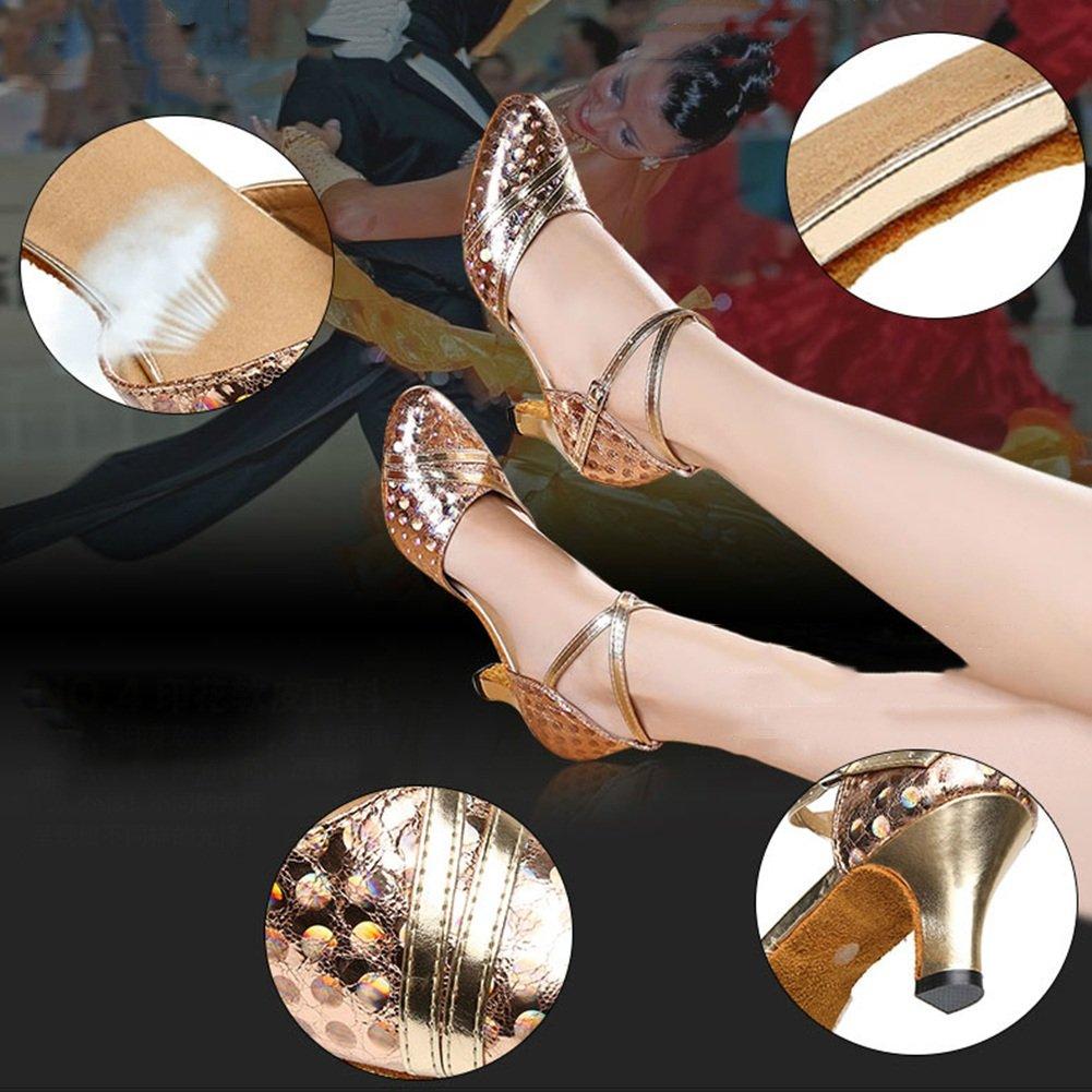 LIXIONG Tanzschuhe Lateinischer moderner moderner moderner Tanz Frau Hoher Absatz Erwachsene Weicher Boden, Verschleißfest, 3 Farben Modeschuhe (Farbe   Silber-6cm, größe   EU38 UK5.5 240) B07DPPVMJW Tanzschuhe Zuverlässige Qualität 07dc31