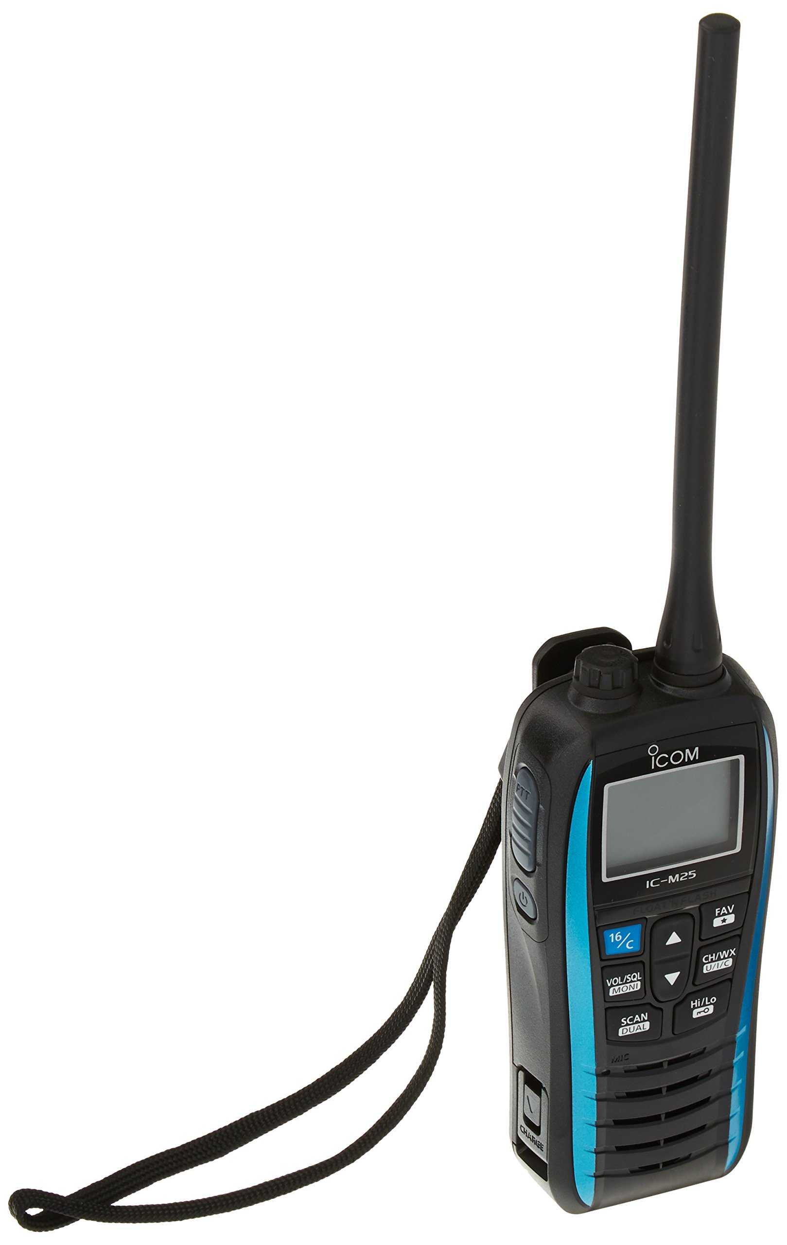 ICOM IC-M25 21 Handheld VHF Radio - Blue Trim
