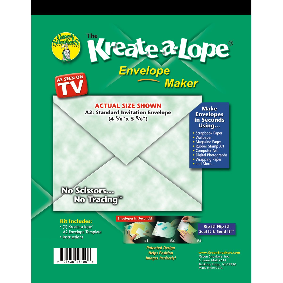 Amazon Green Sneakers Kreate A Lope Envelope Template A2