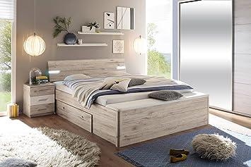 Lifestyle4living Bett Bettanlage Schlafbett Schlafzimmerbett