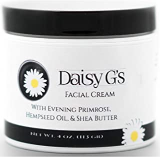 product image for Daisy G's Facial Cream with Evening Primrose, Hempseed Oil, & Shea Butter Antioxidant Moisturizing Nourishing Facial Lotion Hand Made (4oz Night Cream with Organic Ingredients)