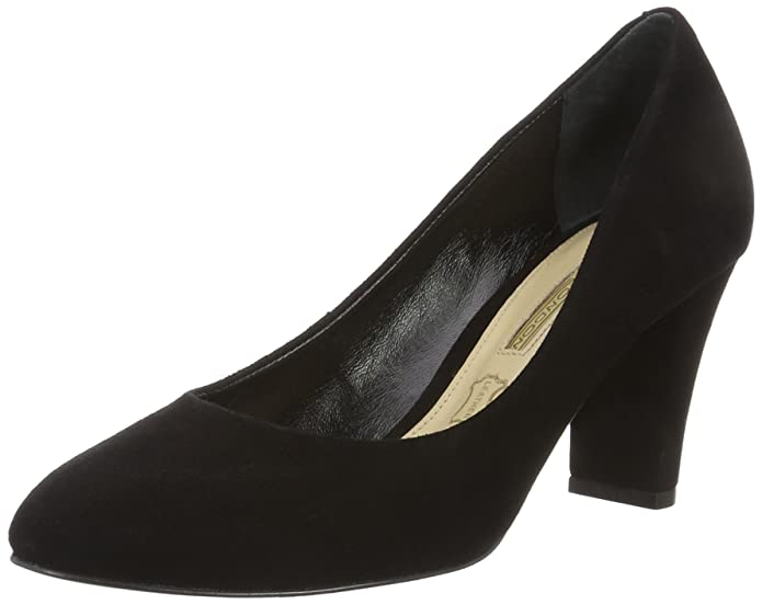 London Zs 5700-15 Kid Suede, Womens Ankle Pumps Buffalo