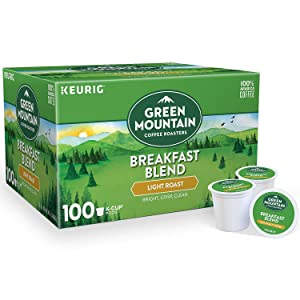 Green Mountain Coffee, Caramel Vanilla Cream (54 K-Cups) Net Wt 17.9 Oz,, ()