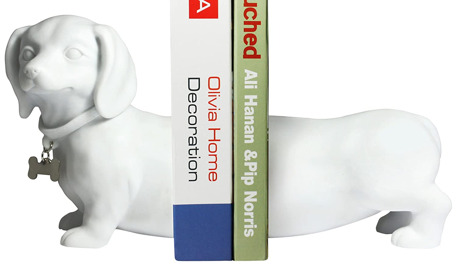 Dachshund Dog Bookend Set