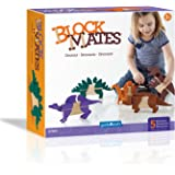 Guidecraft Block Matestm - Dinosaur Building Kit (Piece 20)