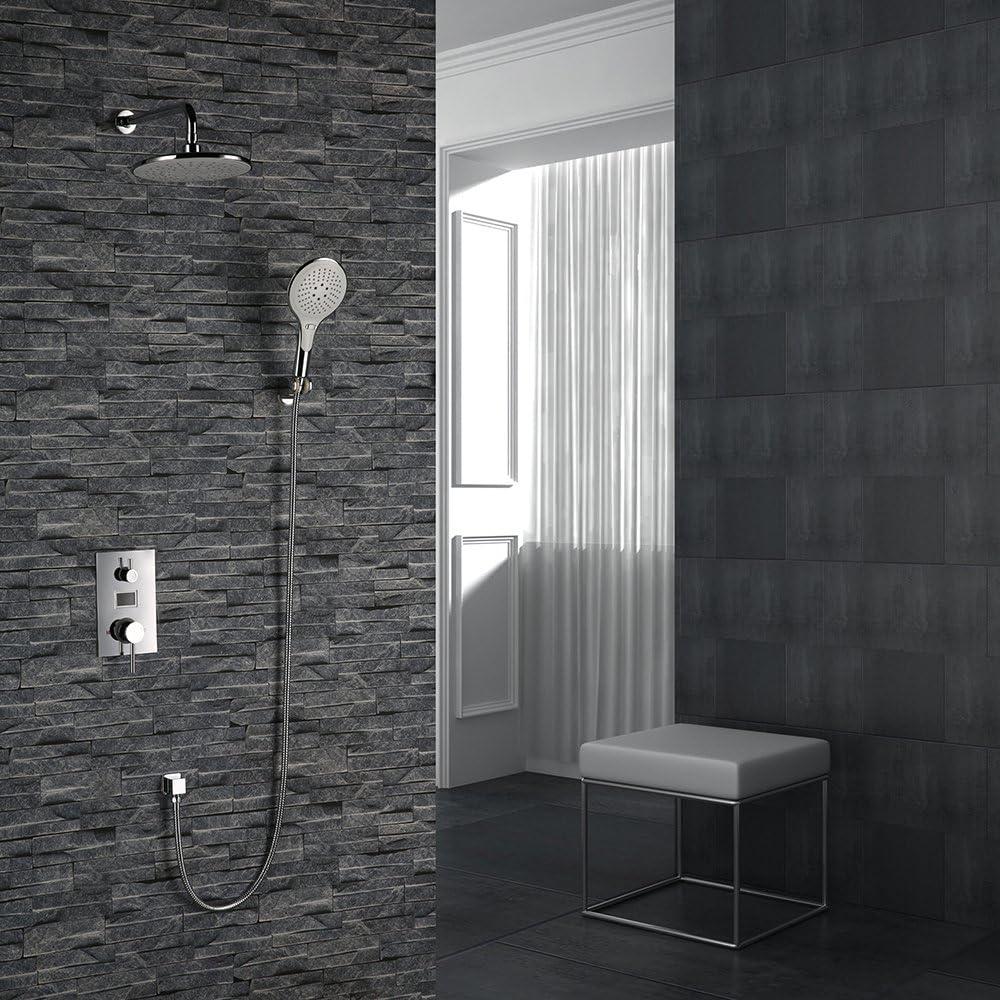 Homelody® Sistema columna conjunto de ducha Invisible – embebido ...