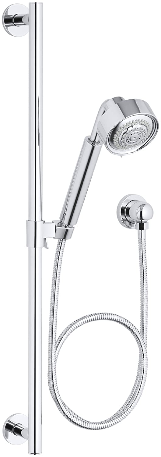 Kohler K-9059-CP Contemporary Handshower Kit, Polished Chrome ...
