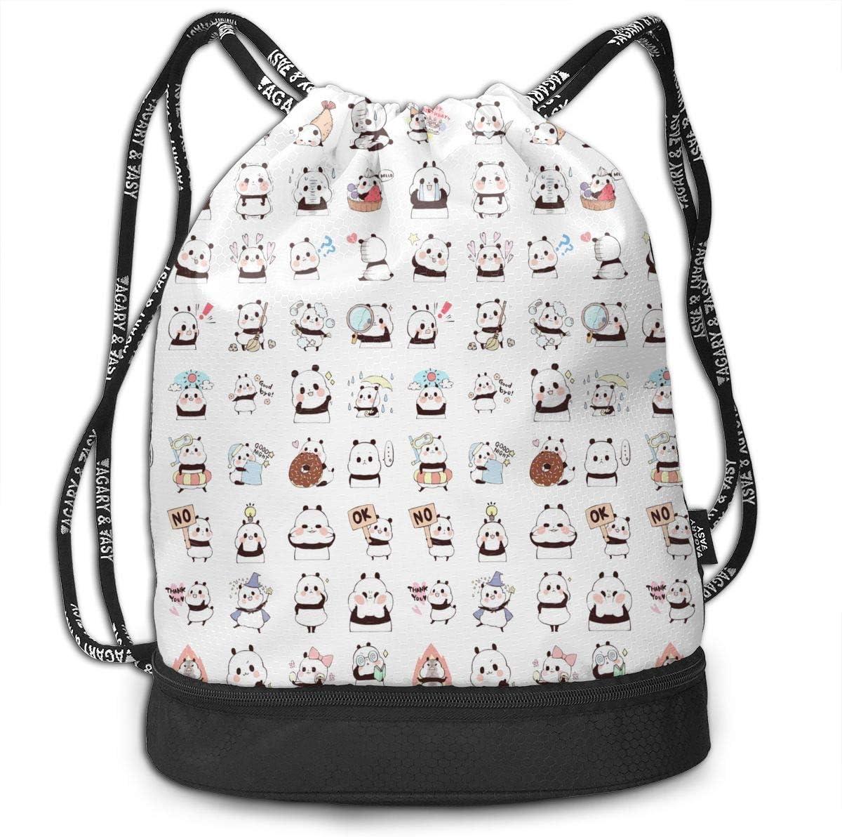 HUOPR5Q Cute Drawstring Backpack Sport Gym Sack Shoulder Bulk Bag Dance Bag for School Travel