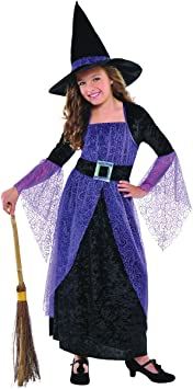 Bonito disfraz de bruja Christys Girls (4-6 años): Amazon.es ...