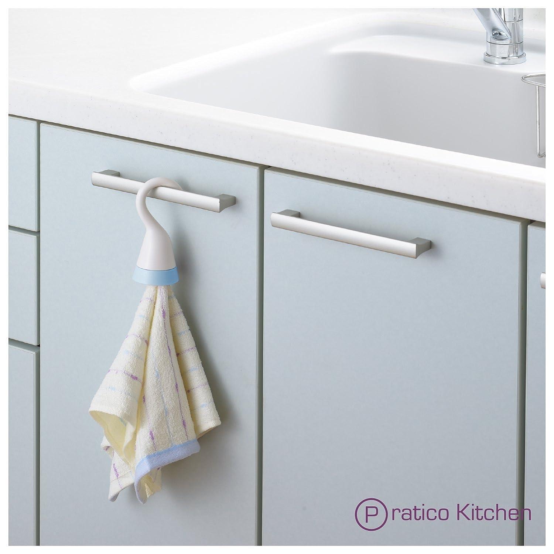 Amazon.com - OmniHook Portable Towel Holder for Kitchen, Bathroom ...