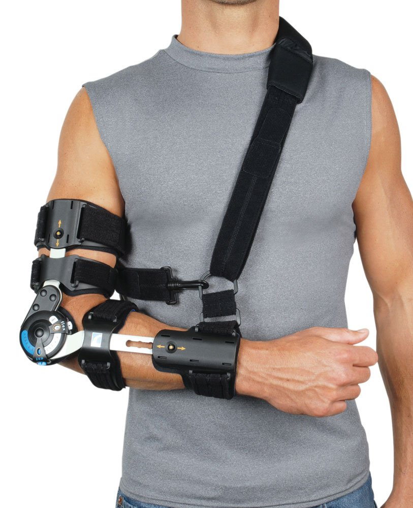 Ossur Innovator X Post-Op Elbow Brace, Left
