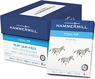 product image for Hammermill Paper Tidal Multipurpose, 20lb, 92 Bright, 8.5 x 11, Letter, 5,000 Sheets /Carton. Made In The USA
