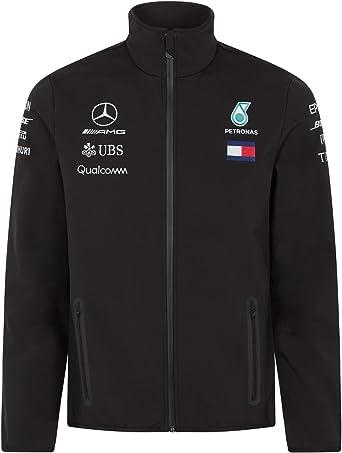Mercedes AMG Petronas Chaqueta Softshell Motorsport Team F1 Driver: Amazon.es: Ropa y accesorios
