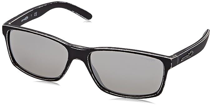 d8602b3309 Arnette Slickster gafas de sol, Matte Stone Washed Silver, 58 para Hombre:  Amazon.es: Ropa y accesorios