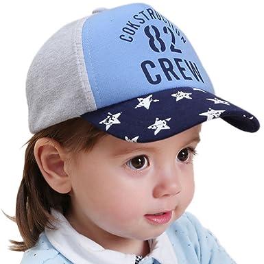 3807616e222 Happy Cherry Casquette de Base-Ball Bleu Bébé Garçon Fille Toddler en Coton  Imprimé à