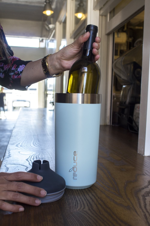 Amazon.com   reduce Vacuum Insulated Stainless Steel Wine Cooler Set ...