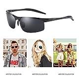 Anmery Mens Sports Polarized Sunglasses 100% UV