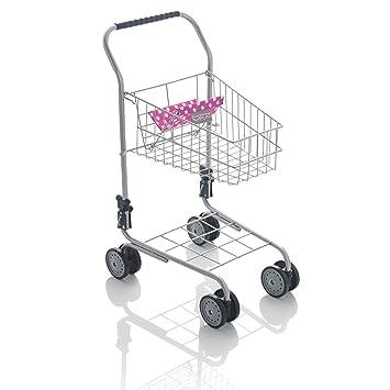 6e898a8a6725 Molly Dolly Deluxe Metal Shopping Trolley: Amazon.co.uk: Toys & Games