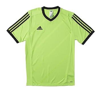 Adidas Tabela 18 Fußball Match Trikot Kinder Teamtrikot kurzarm gelb weiß