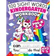 100 Sight Words Kindergarten Workbook Ages 4-6: A Whimsical Learn to Read & Write Adventure Activity Book for Kids with Unico