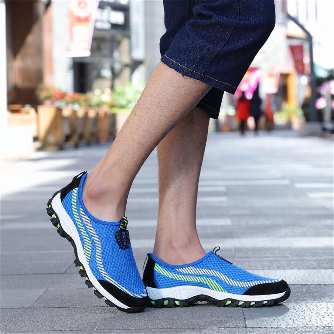 DorkasDE Mesh Schuhe Atmungsaktiv Wassersportschuhe Sneaker Strandschuhe f/ür Damen Herren Kinder