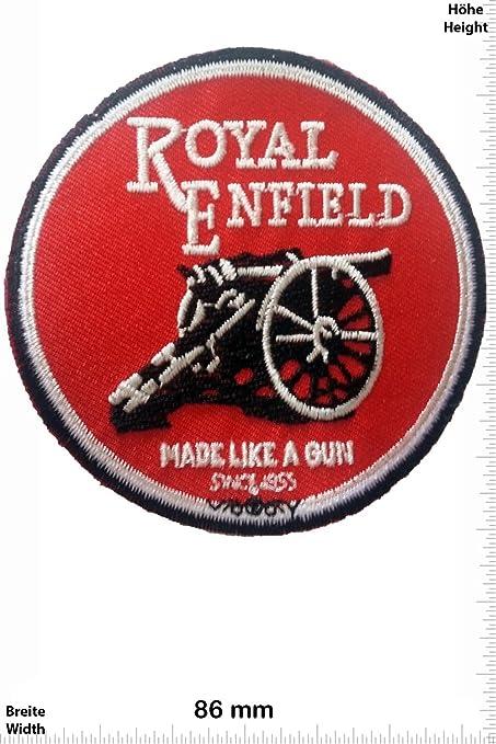 Parches - Royal Enfield - Made Like a Gun- -Armas - Royal Enfield - Parche Termoadhesivos Bordado Apliques - Patch