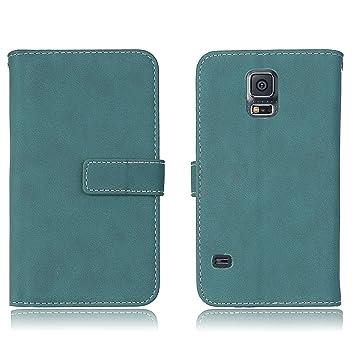 Samsung Galaxy S5 i9600 Funda, adorehouse Flip Carcasa Suave ...