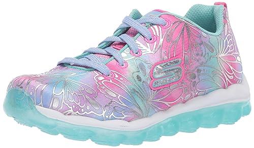 Girls' Skechers Little Kid & Big Kid Flutter N' Fly Slip On Sneakers