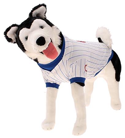 7707bfaf4 Amazon.com : Sporty K9 MLB Baseball Dog Jersey, Chicago Cubs Large : Sports  & Outdoors