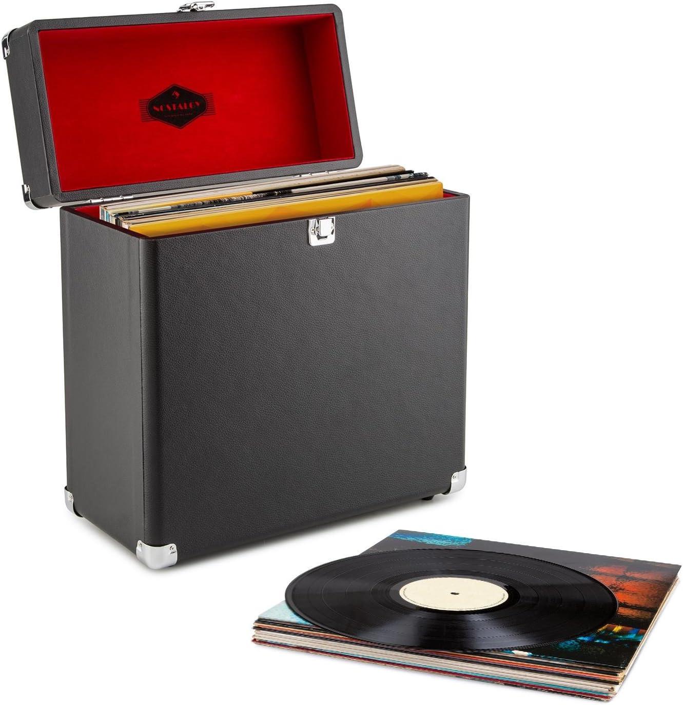 Auna Vinyl Collector Kit máquina Limpieza y Maleta de vinilos ...
