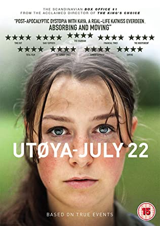 Utoya - July 22 [Italia] [DVD]: Amazon.es: Cine y Series TV