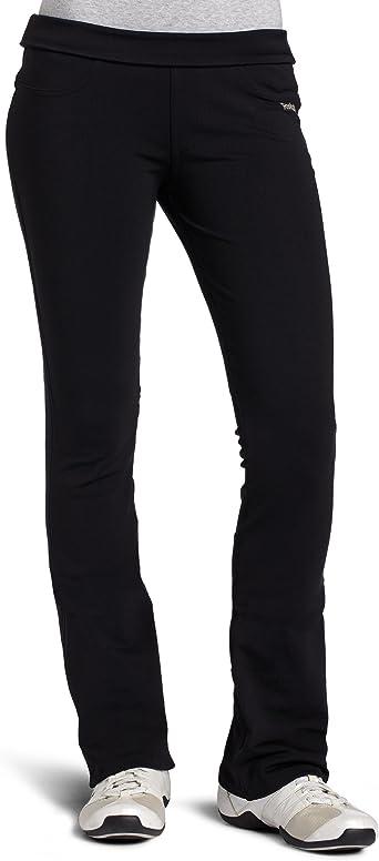 fácilmente Fuera de Tropical  Amazon.com: Reebok Easytone – Pantalones para mujer de la mujer, negro, XS:  Clothing