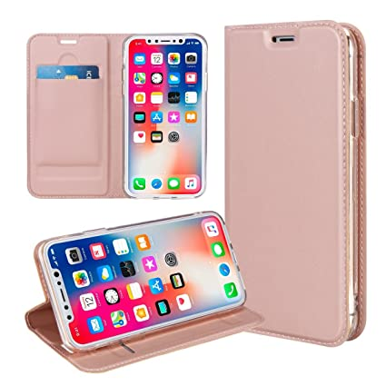 outlet store 28538 8e289 Amazon.com: Mpaltor iPhone 9 Plus - Backcase Cover Wallet Style Flip ...