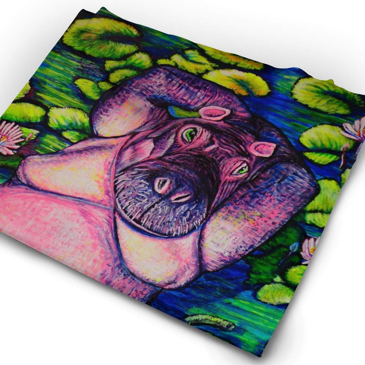 Headbands Hippo Headwear Bandana Sweatband Gaiter Head Wrap Mask Neck Outdoor Scarf