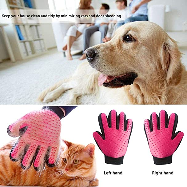 Amazon.com : True Touch Deshedding Glove Gentle And Efficient Hair ...