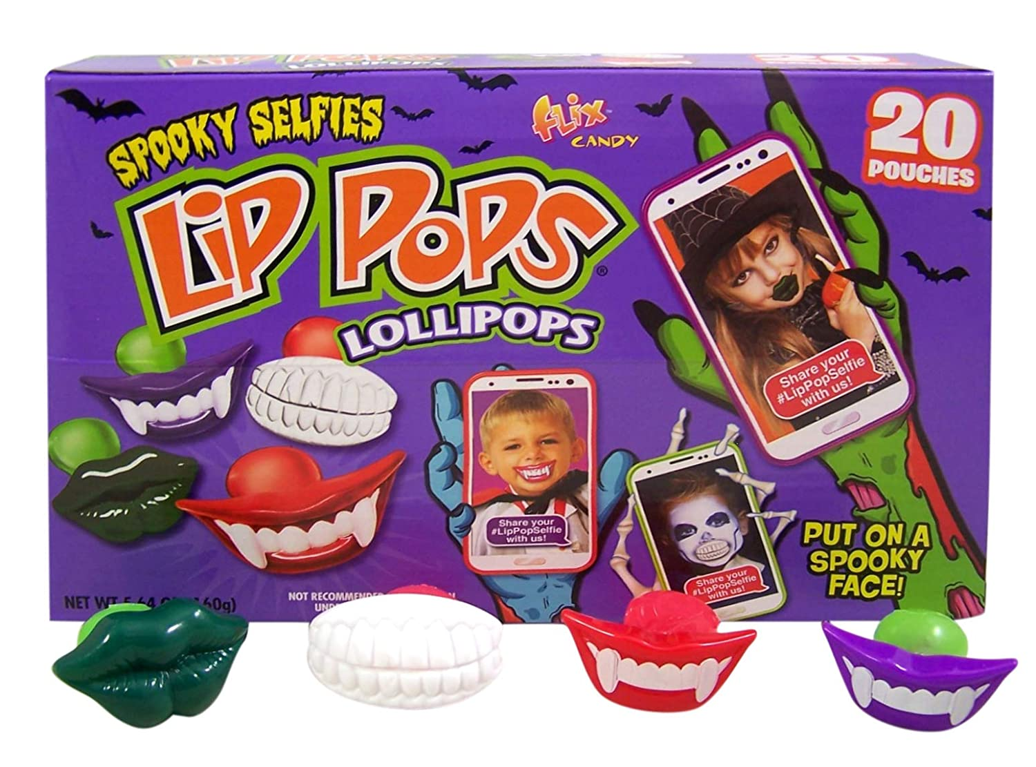 Vampire Fangs Lollipops