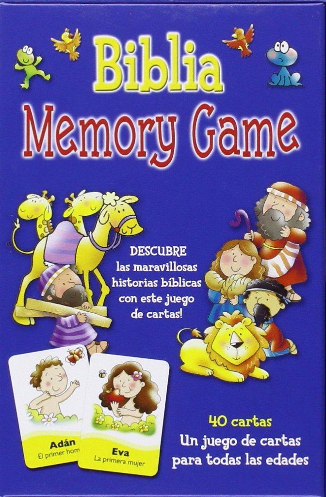 Biblia Memory Game: juego de cartas: VV.AA.: 9788415662297 ...