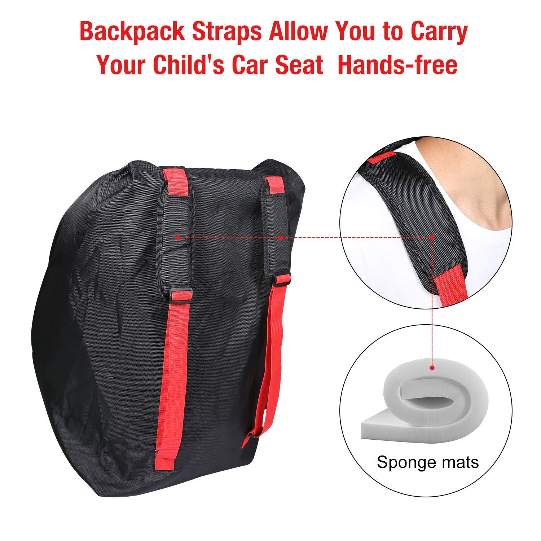 Modokit 1680D Durable Gate Check Bag Bundle Car Seat Stroller Travel
