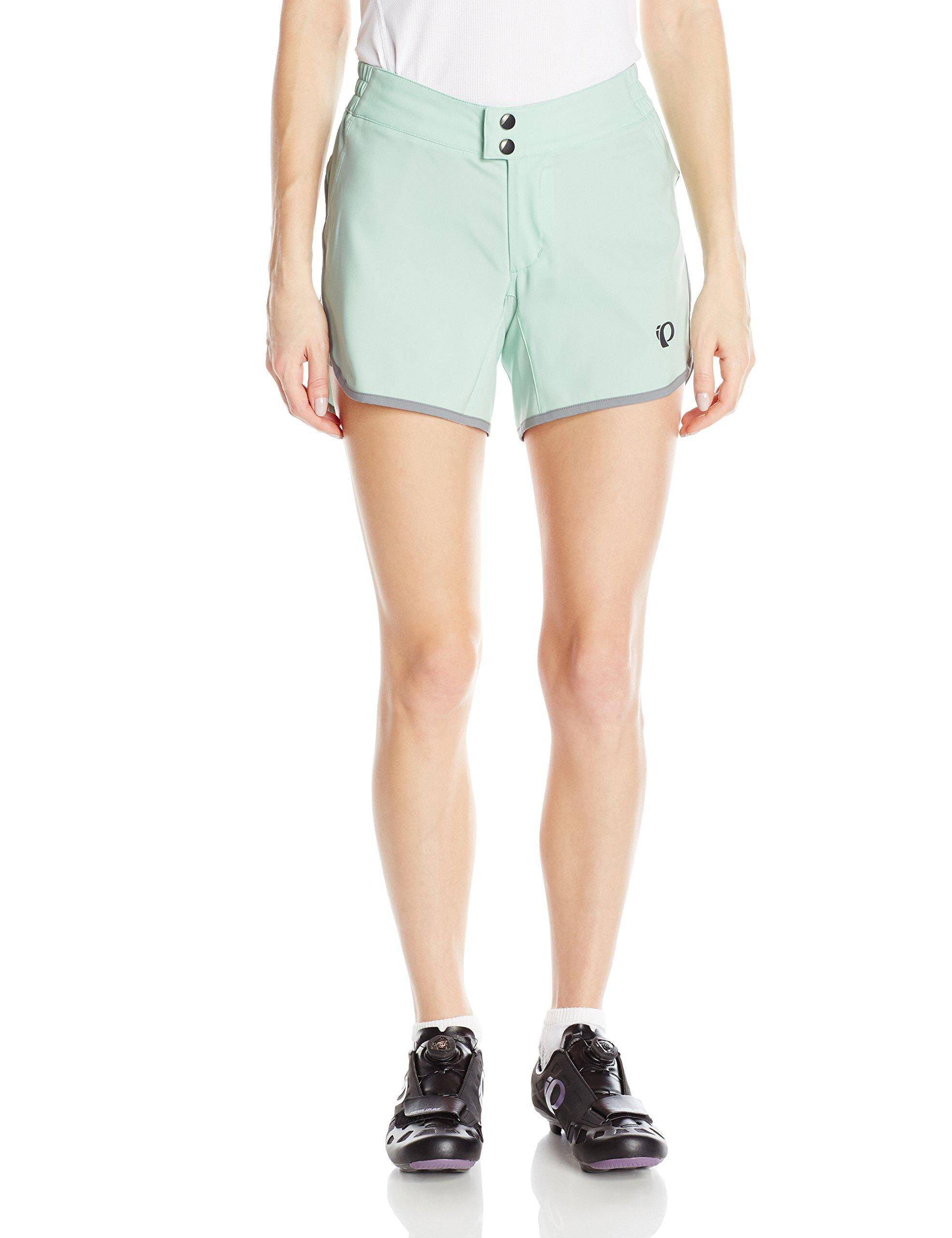 Pearl iZUMi Women's Journey Shorts, Mist Green, Small