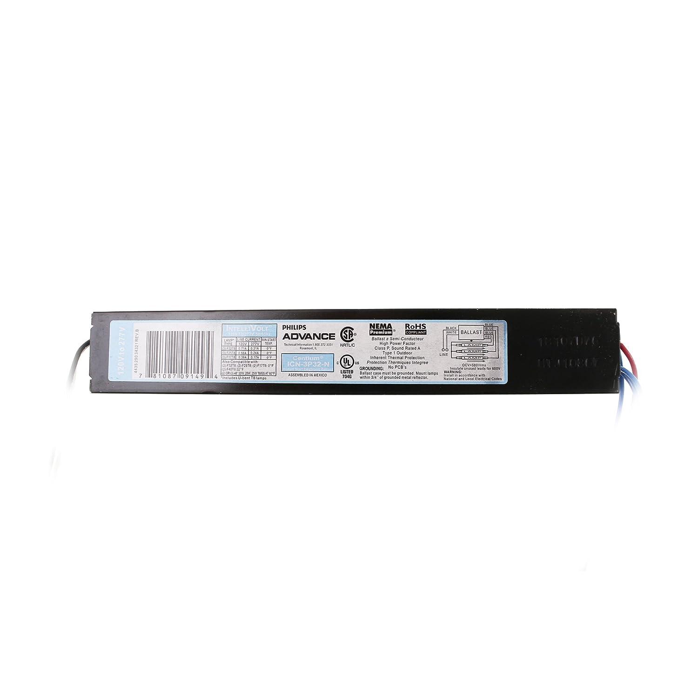 Amazon Com Advance Icn 3p32 N Centium Fluorescent Ballast 3xf32t8