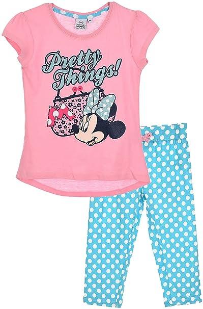 Disney - Pijama - para niña Rosa 116 cm (6 Años)