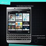 Nillkin Amazing H Nano Anti-Explosion Tempered Glass Screen Protector For Blackberry Passport Silver Edition