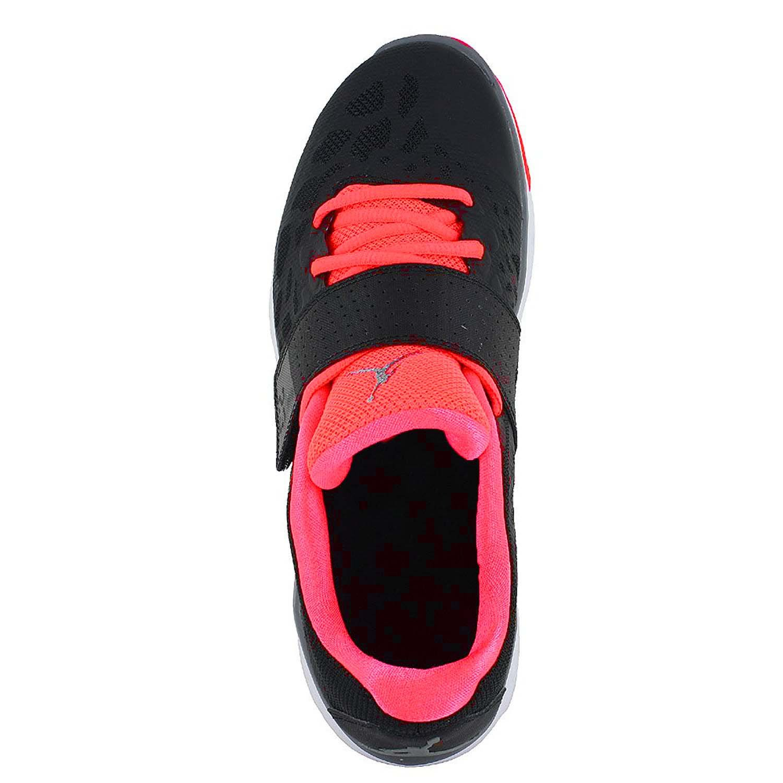 Jordan Youth Nike Flight Flex Trainer 2 Shoes-Black/Cool Grey-Hot Lava-4.5 by Jordan (Image #3)