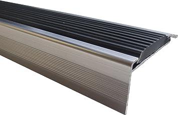 23 mm x 45 mm x 1,15 m Silber verschiedene Gr/ö/ßen Treppenkanten Winkelprofil Treppenwinkelprofil Treppenprofil Treppenstufenprofil