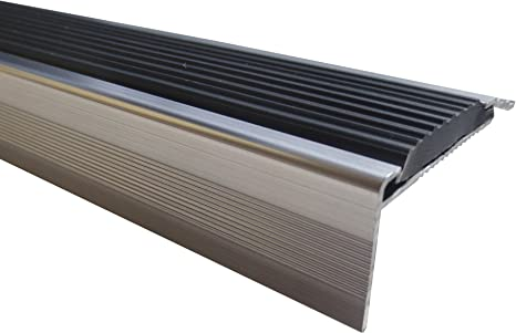 23 mm x 45 mm x 1,35 m Silber verschiedene Gr/ö/ßen Treppenkanten Winkelprofil Treppenwinkelprofil Treppenprofil Treppenstufenprofil