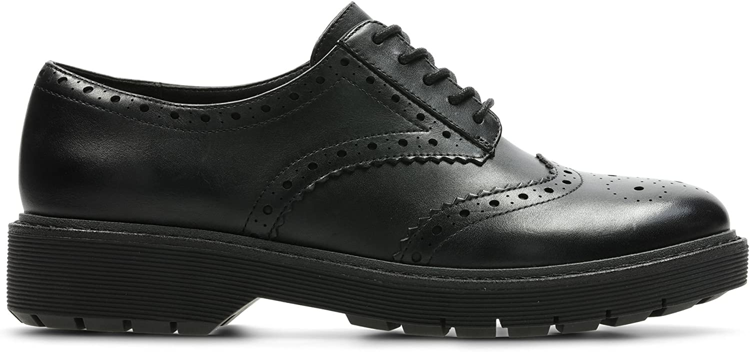 Clarks Alexa Darcy Leather Shoes in