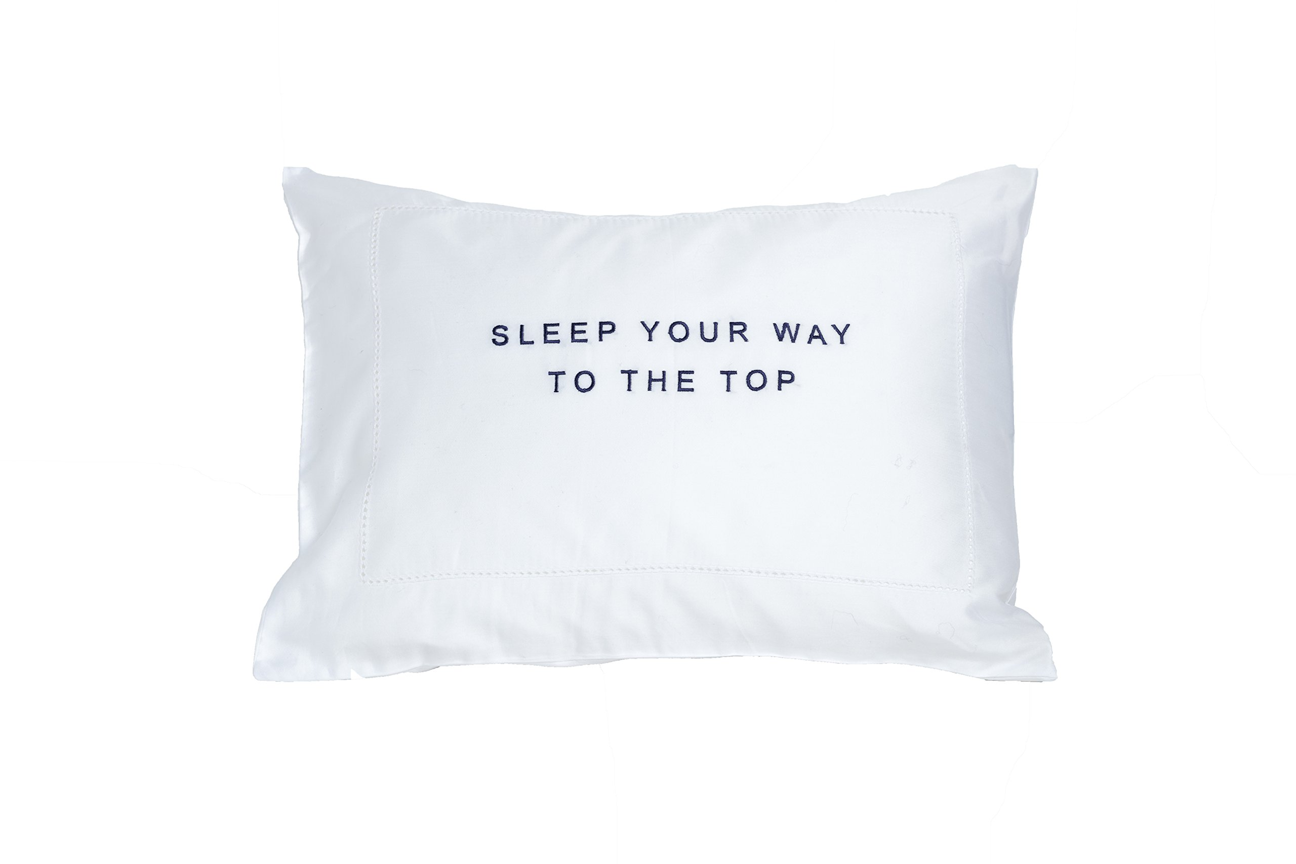 Sleep Your Way to the Top ''The Thrive Pillow'' (Block Font)